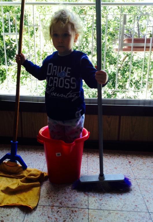 משפטים על ילדים וניקיון